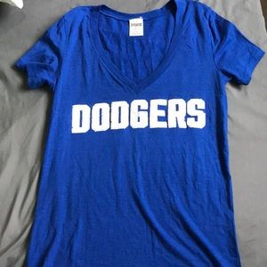 "VS Blue Dodgers ""3 strikes your out"" T-shirt"